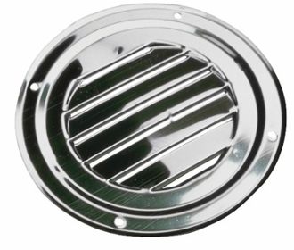 "4"" stainless steel flush mount vent"